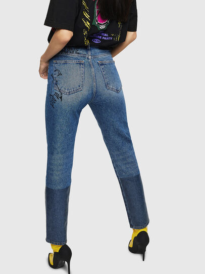 Diesel - D-Eiselle 0078T, Bleu Clair - Jeans - Image 2