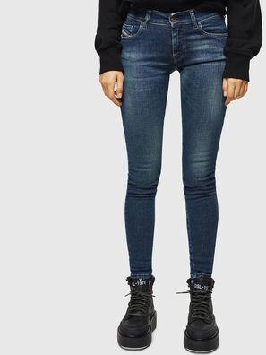 Slandy Low 069KW, Bleu Foncé - Jeans