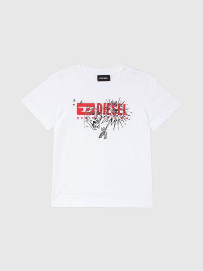 Diesel - TUDARIB-R, Blanc - T-shirts et Hauts - Image 1