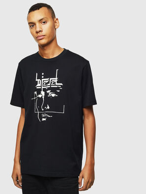 T-JUST-J14, Noir - T-Shirts