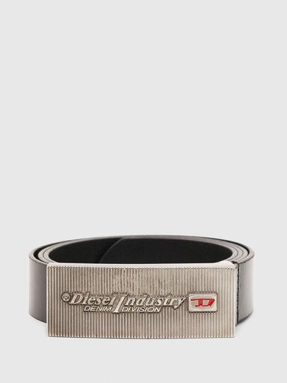 Diesel - B-PIASTRY, Noir - Ceintures - Image 1