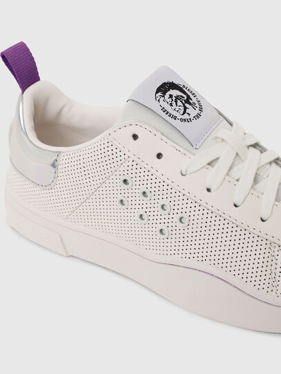 Diesel - S-CLEVER LC W, Blanc/Rose - Baskets - Image 5