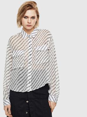 C-SUPERIOR, Blanc/Noir - Chemises