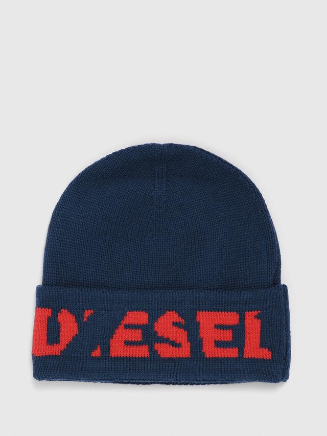Diesel - K-CODER-C, Vert Foncé - Bérets, chapeaux et gants - Image 1