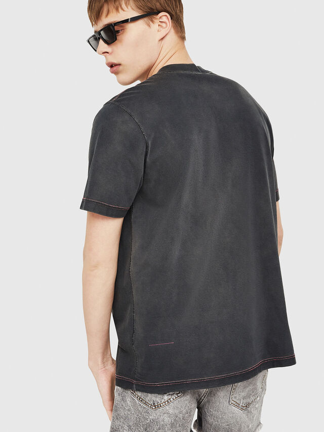 Diesel - T-MINORU, Noir - T-Shirts - Image 2
