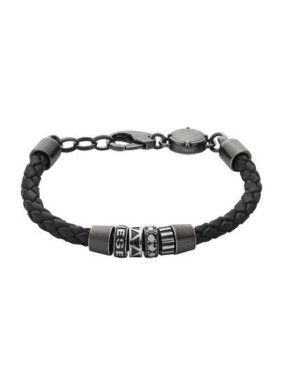 Diesel - BRACELET DX0963, Noir - Bracelets - Image 1