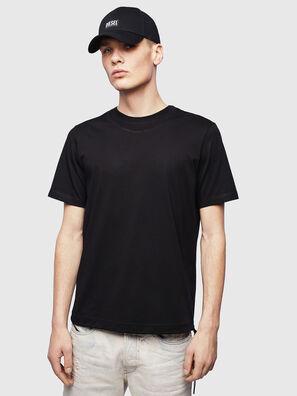 T-HUSTY, Noir - T-Shirts
