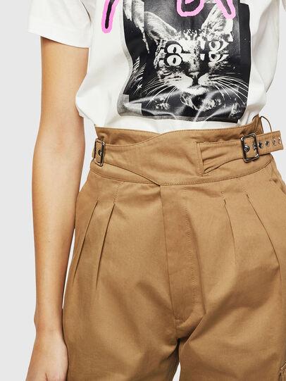 Diesel - P-CHIKU, Marron Clair - Pantalons - Image 4