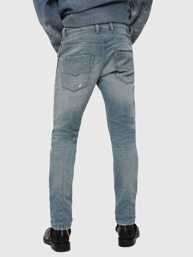 Diesel - Krooley JoggJeans 086AY, Bleu Clair - Jeans - Image 2