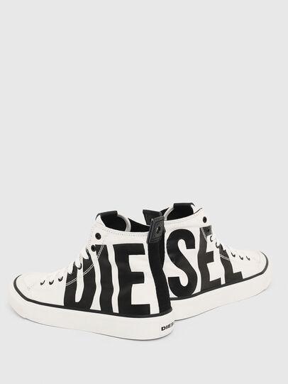 Diesel - S-ASTICO MC W, Blanc/Noir - Baskets - Image 4