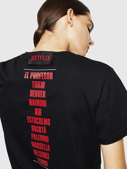 Diesel - LCP-T-DIEGO-CASA, Noir - T-Shirts - Image 6