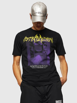 T-JUST-B24, Noir - T-Shirts