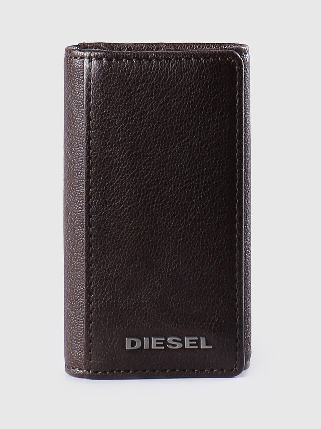 Diesel - KEYCASE O, Marron - Bijoux et Gadgets - Image 1