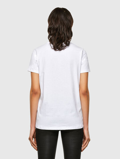 Diesel - T-SILY-K5, Blanc - T-Shirts - Image 2