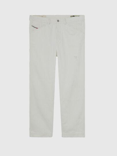 Diesel - D-Franky 009BZ, Blanc - Jeans - Image 1