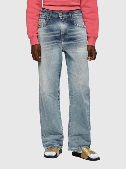 Diesel - D-Reggy 09A04, Bleu Clair - Jeans - Image 1
