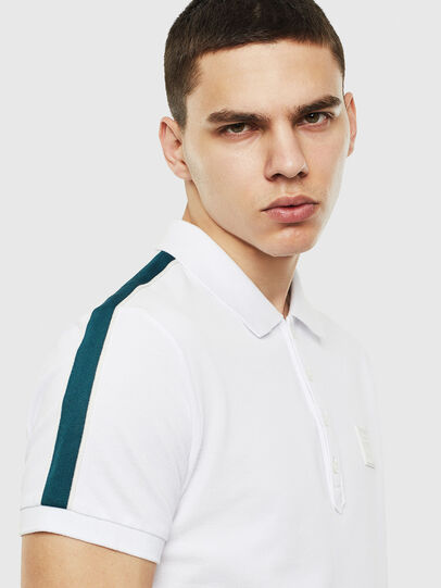 Diesel - T-RALFY-S1, Blanc - Polos - Image 3
