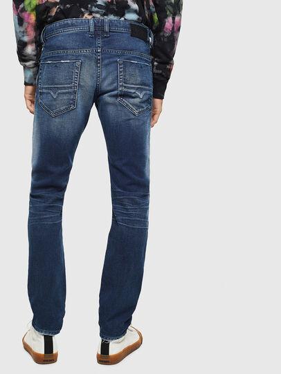 Diesel - Thommer 009BQ, Bleu Foncé - Jeans - Image 2
