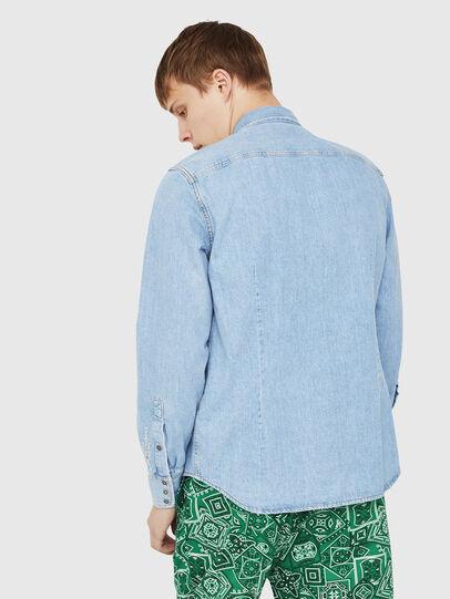 Diesel - D-LEO, Jean Bleu - Chemises en Denim - Image 2
