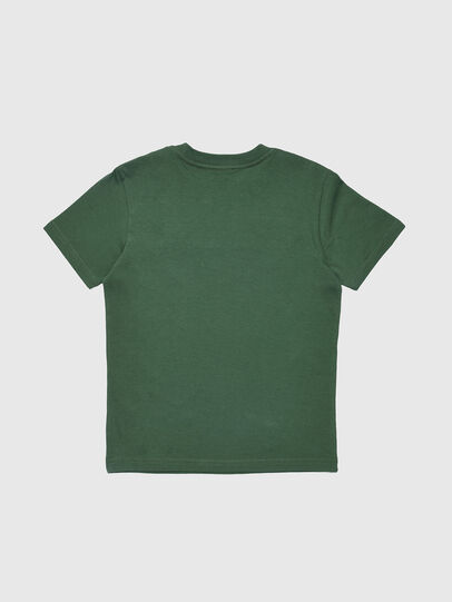 Diesel - TJUSTDIVISION, Vert Bouteille - T-shirts et Hauts - Image 2