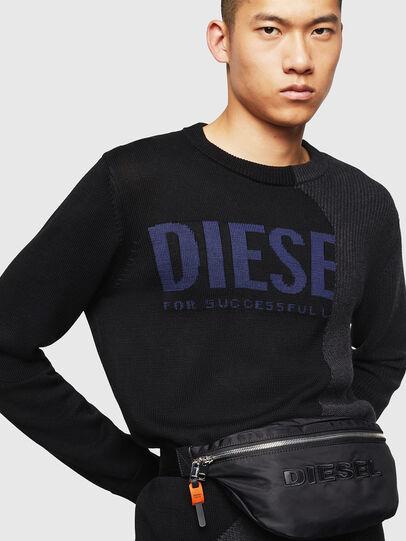 Diesel - FELTRE, Noir - Sacs ceinture - Image 6