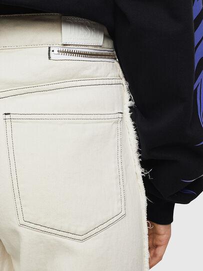 Diesel - Widee 009BD, Blanc - Jeans - Image 4