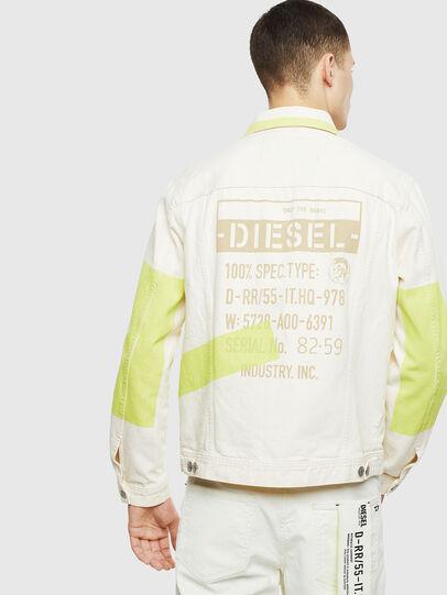 Diesel - NHILL-SP, Blanc - Vestes en denim - Image 2