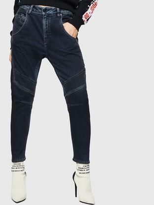 Fayza JoggJeans 069HY, Bleu Foncé - Jeans