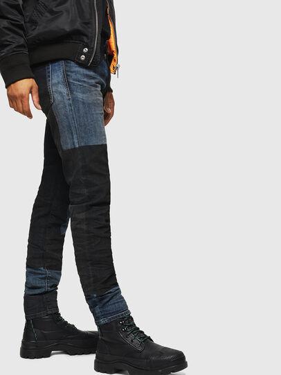 Diesel - D-Strukt 0094K, Bleu Foncé - Jeans - Image 3
