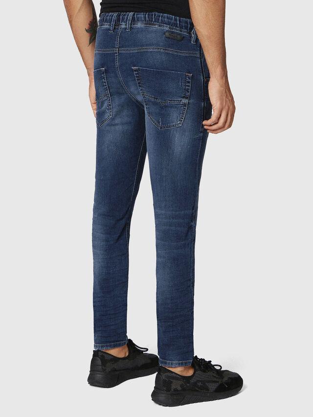 Diesel - Krooley JoggJeans 0686W, Bleu Foncé - Jeans - Image 2