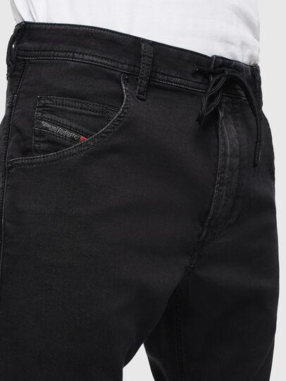 Diesel - Krooley JoggJeans 0687Z, Noir/Gris foncé - Jeans - Image 5