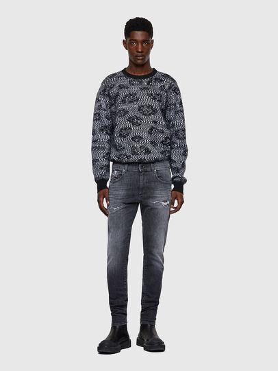 Diesel - D-Strukt JoggJeans® 009QT, Noir/Gris foncé - Jeans - Image 5