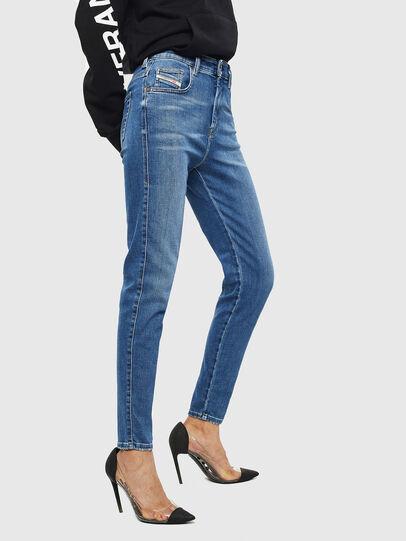 Diesel - Slandy High 009AG, Bleu moyen - Jeans - Image 4