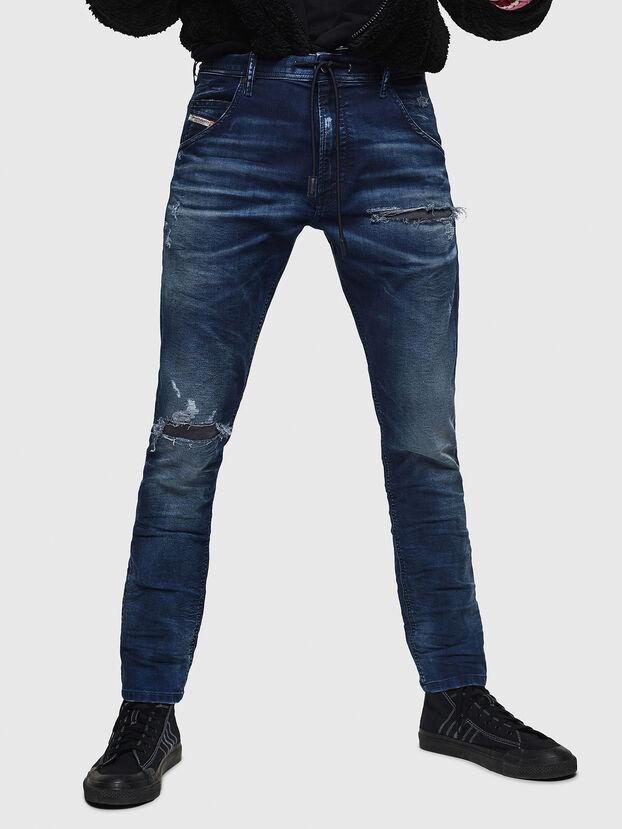 Krooley JoggJeans 069JE, Bleu Foncé - Jeans
