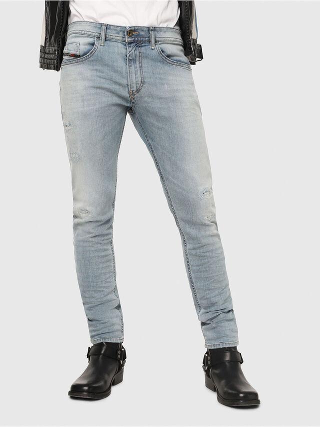 Diesel - Thommer 087AX, Bleu Clair - Jeans - Image 1