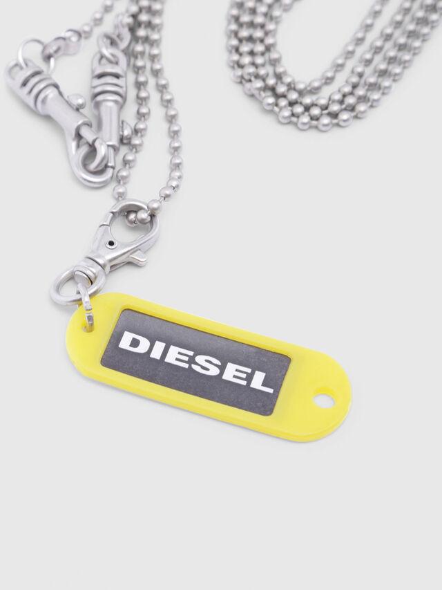 Diesel - A-BRENZONE, Gris argenté - Bijoux et Gadgets - Image 2