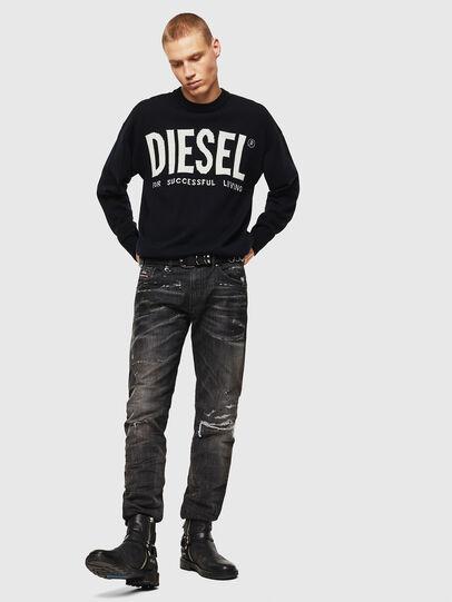 Diesel - K-LOGOS, Noir - Pull Maille - Image 7