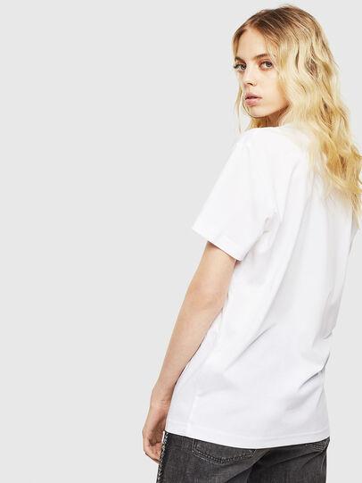 Diesel - T-DIEGO-J8, Blanc - T-Shirts - Image 4