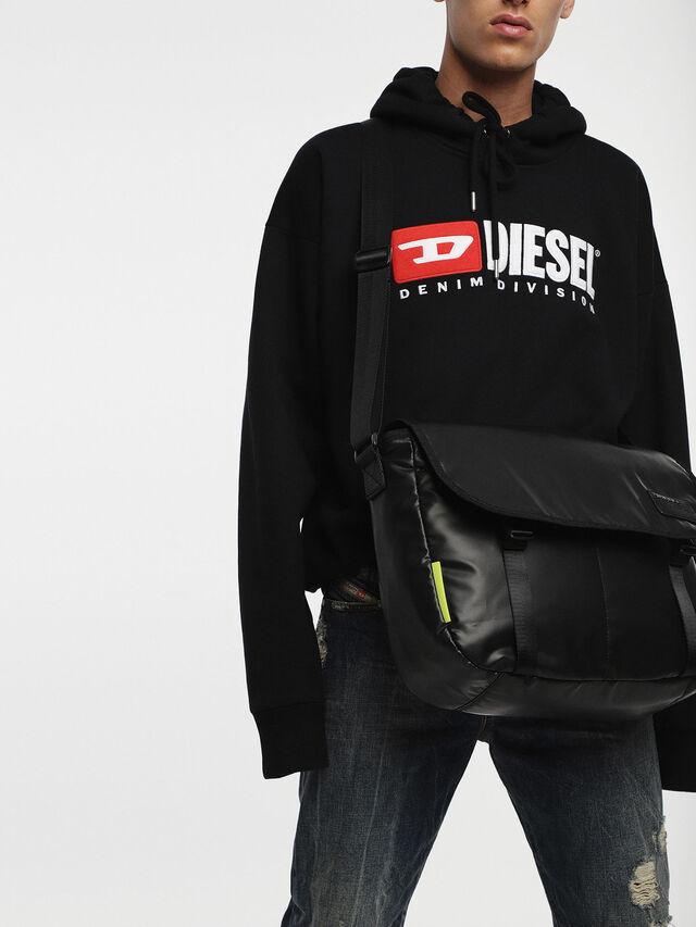 Diesel - F-DISCOVER MESSENGER, Noir - Sacs en bandoulière - Image 6
