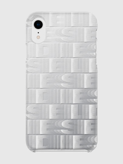 Diesel - DIESEL PRINTED CO-MOLD CASE FOR IPHONE XR, Blanc - Coques - Image 2
