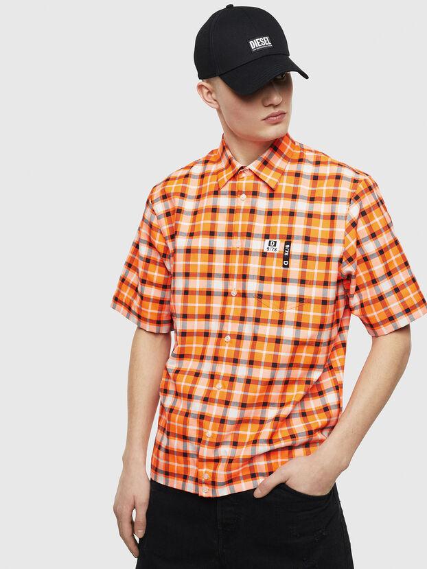 S-ATWOOD-A, Orange - Chemises