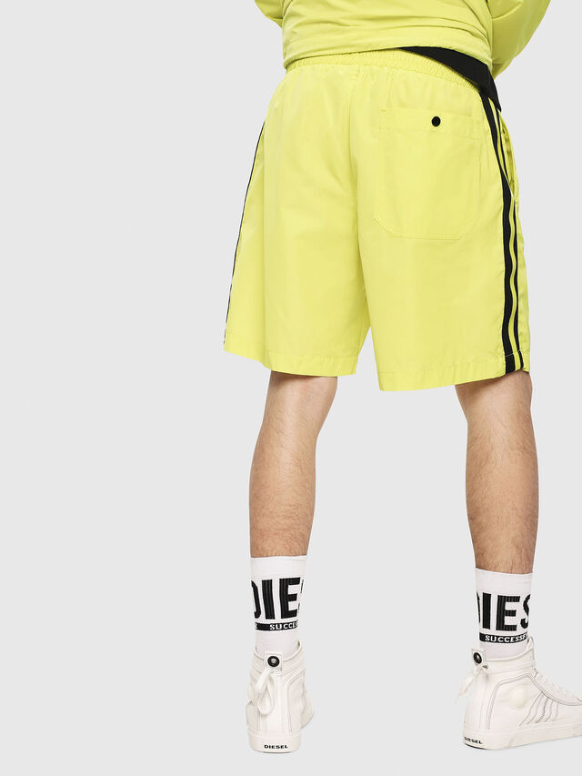 Diesel - P-BOXIE, Jaune Fluo - Shorts - Image 2
