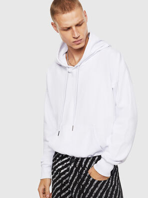 S-ALBY-COPY-J1, Blanc - Pull Cotton