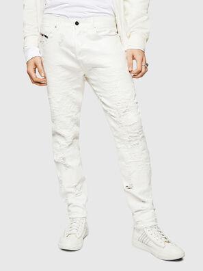 Mharky 069GY, Blanc - Jeans