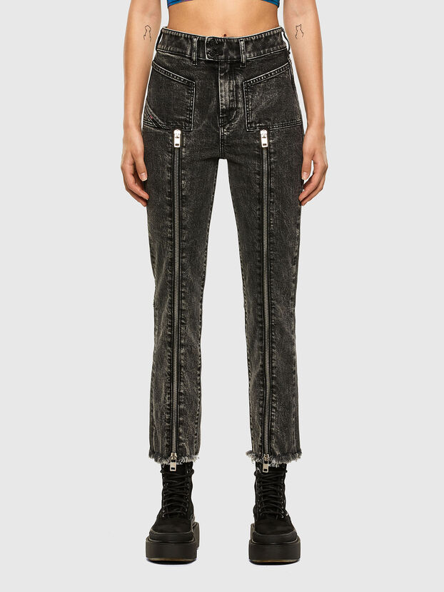 D-Earlie 009DN, Noir/Gris foncé - Jeans