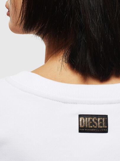 Diesel - CL-F-MAGDA-BIGM, Blanc - Pull Cotton - Image 4