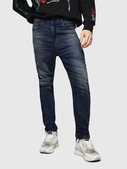 Diesel - D-Vider JoggJeans 069HV, Bleu Foncé - Jeans - Image 1