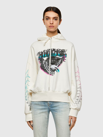 Diesel - F-MAGDALENA-A2, Blanc - Pull Cotton - Image 1
