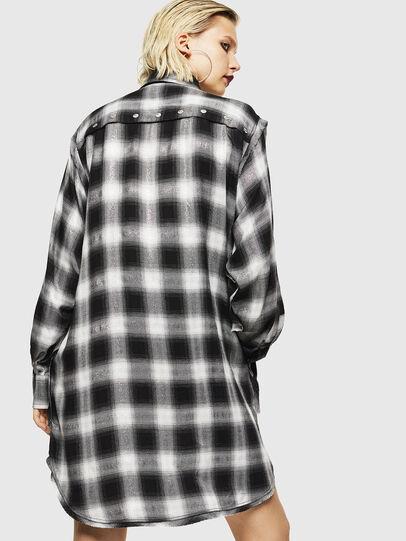 Diesel - D-SUNNY-A, Noir/Blanc - Robes - Image 2