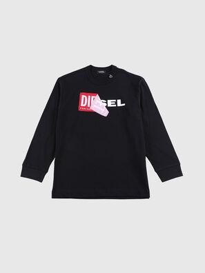 TEDRI OVER, Noir/Rouge - T-shirts et Hauts